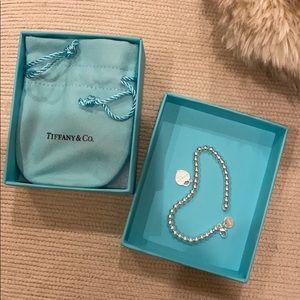 Return to Tiffany Tiffany Blue Heart Tag Bracelet